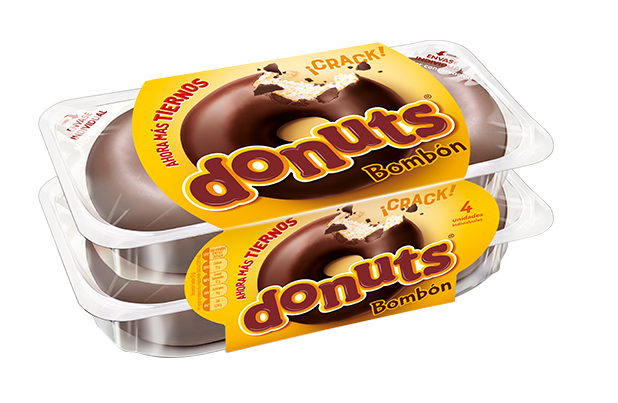 Donuts Bombón 4 uds