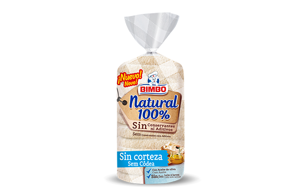 NATURAL 100% SIN CORTEZA