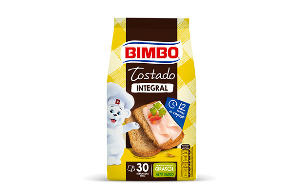 Bimbo® Pan Tostado Integral