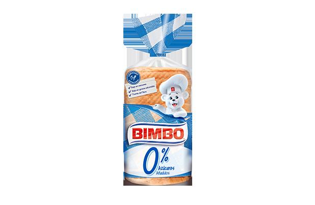 Bimbo 0% azúcares añadidos