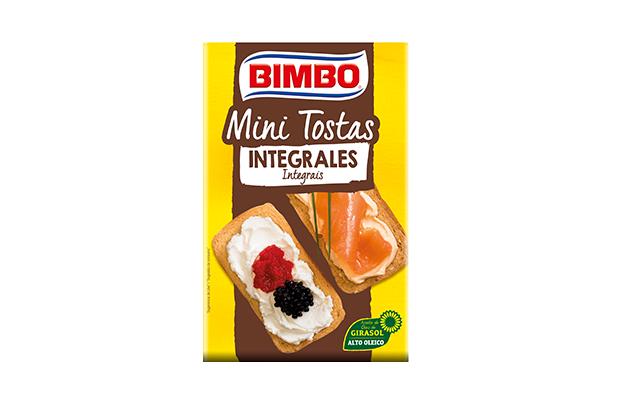 Bimbo® Mini tostas Rectangulares Integrales