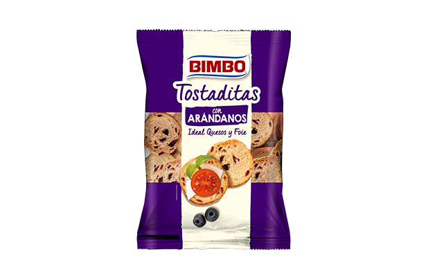 Bimbo® Mini Tostas con Arándanos